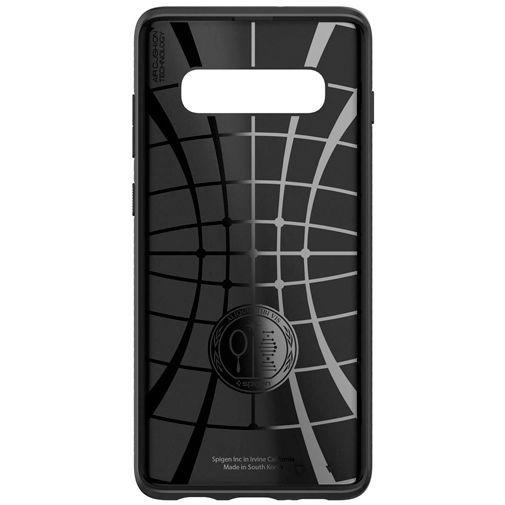 Productafbeelding van de Spigen Liquid Air Case Black Samsung Galaxy S10+