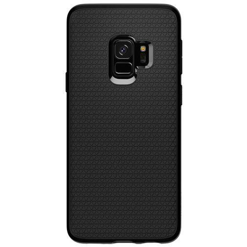 Productafbeelding van de Spigen Liquid Air Case Black Samsung Galaxy S9