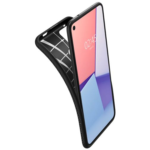 Productafbeelding van de Spigen Liquid Air TPU Back Cover Google Pixel 4a 5G Zwart