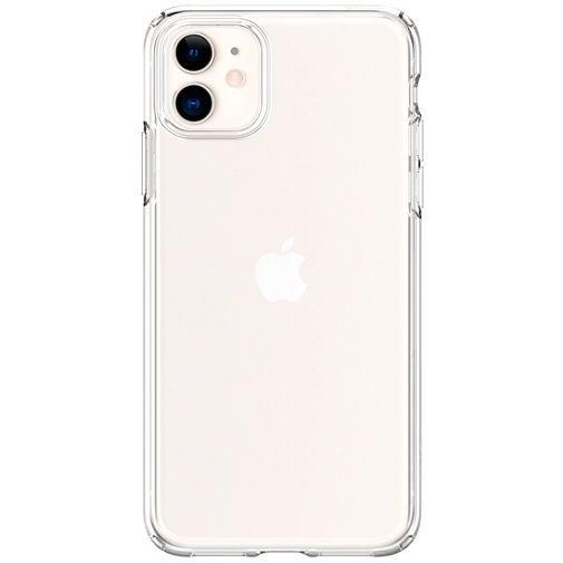 Productafbeelding van de Spigen Liquid Crystal Case Clear Apple iPhone 11