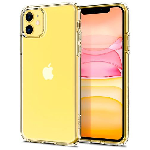 Productafbeelding van de Spigen Liquid Crystal Case Clear Apple iPhone 11
