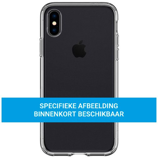 Productafbeelding van de Spigen Liquid Crystal TPU Back Cover Apple iPhone 12/12 Pro Transparant