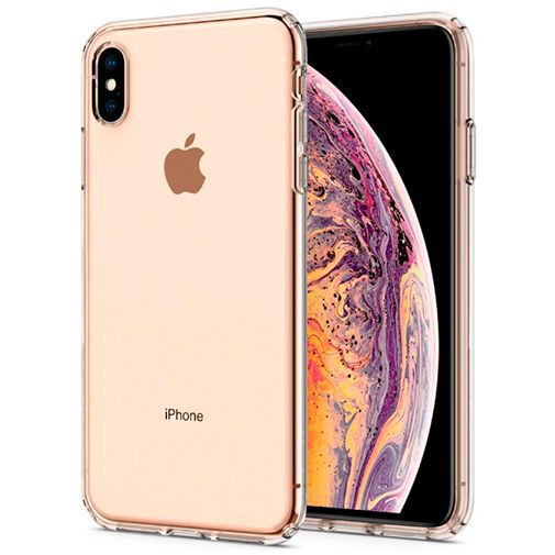 Productafbeelding van de Spigen Liquid Crystal Case Clear Apple iPhone XS Max