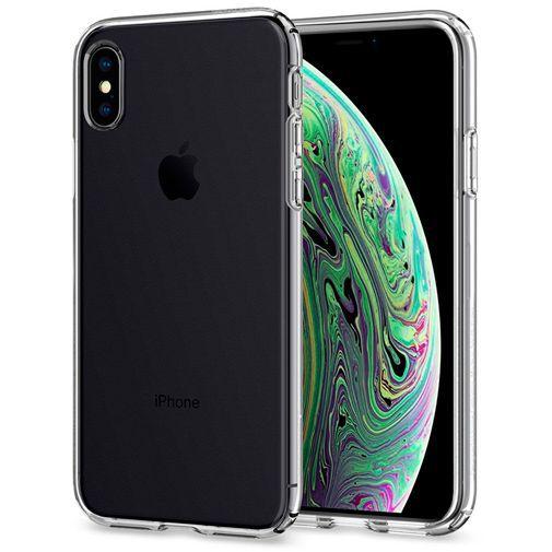 Productafbeelding van de Spigen Liquid Crystal Case Clear Apple iPhone XS