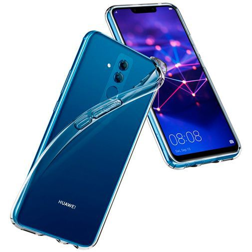 Produktimage des Spigen Liquid Crystal Case Clear Huawei Mate 20 Lite