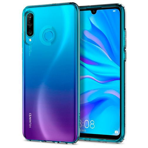 Produktimage des Spigen Liquid Crystal Case Clear Huawei P30 Lite/P30 Lite New Edition
