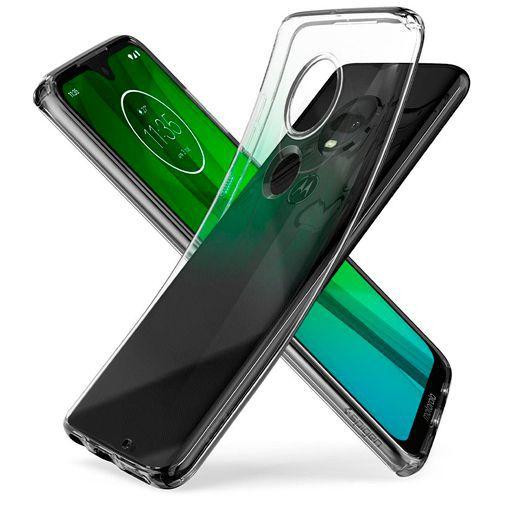 Produktimage des Spigen Liquid Crystal Case Clear Motorola Moto G7/G7 Plus