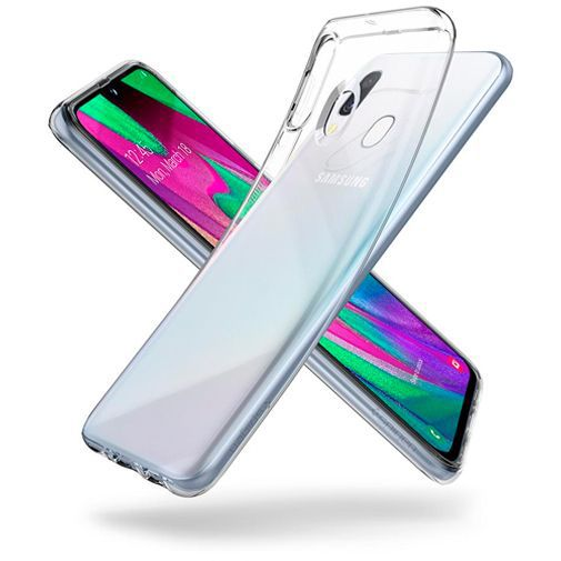 Produktimage des Spigen Liquid Crystal Case Clear Samsung Galaxy A40
