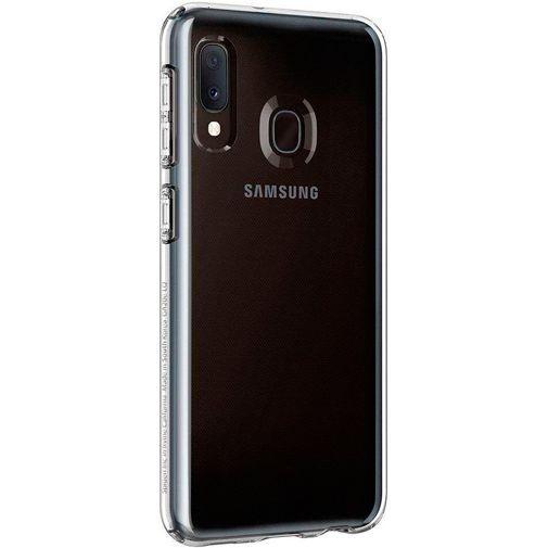 Productafbeelding van de Spigen Liquid Crystal Case Clear Samsung Galaxy A20e