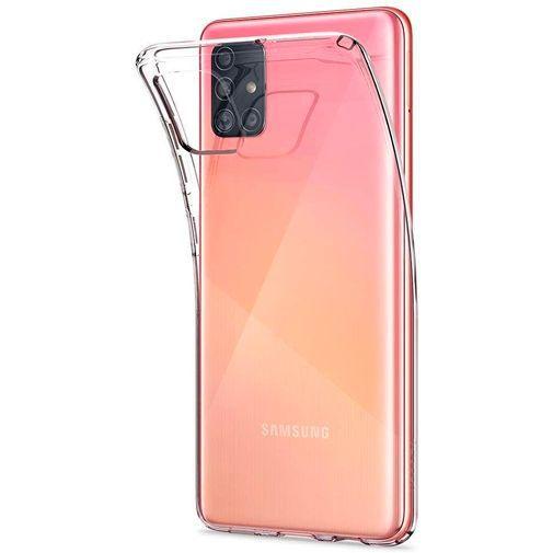 Produktimage des Spigen Liquid Crystal Case Clear Samsung Galaxy A71