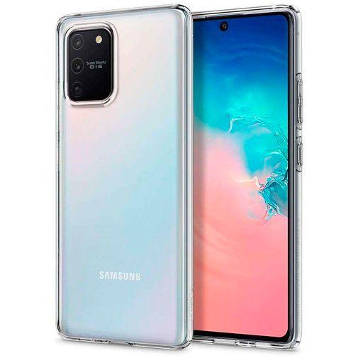 Productafbeelding van de Spigen Liquid Crystal Case Clear Samsung Galaxy S10 Lite