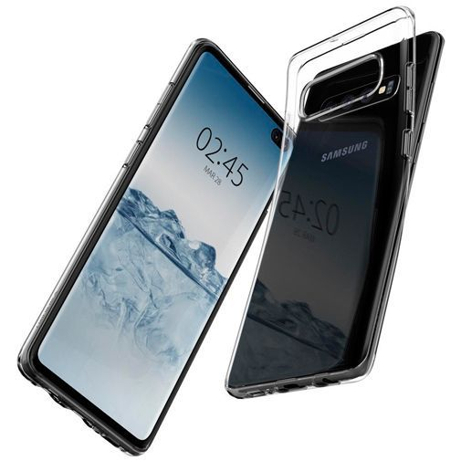 Produktimage des Spigen Liquid Crystal Case Clear Samsung Galaxy S10+