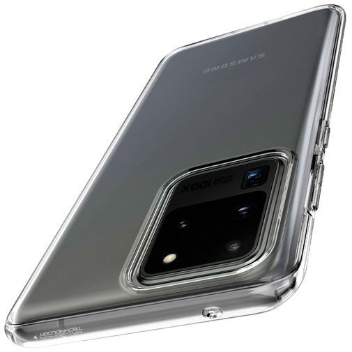 Produktimage des Spigen Liquid Crystal Case Clear Samsung Galaxy S20 Ultra
