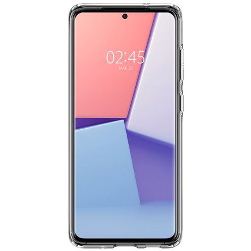 Productafbeelding van de Spigen Liquid Crystal Case Clear Samsung Galaxy S20