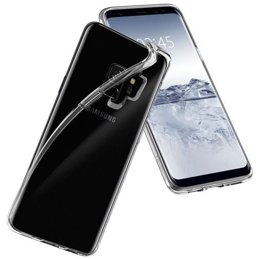 Productafbeelding van de Spigen Liquid Crystal Case Clear Samsung Galaxy S9