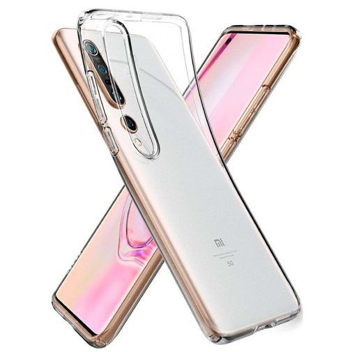 Productafbeelding van de Spigen Liquid Crystal Case Clear Xiaomi Mi 10/10 Pro