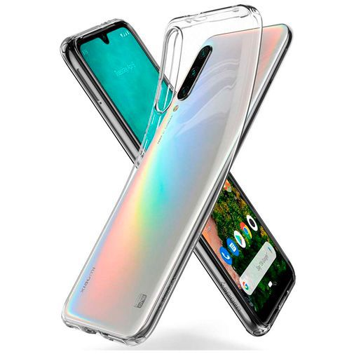 Produktimage des Spigen Liquid Crystal Case Clear Xiaomi Mi A3