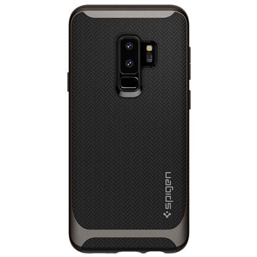 Productafbeelding van de Spigen Neo Hybrid Case Gunmetal Samsung Galaxy S9+