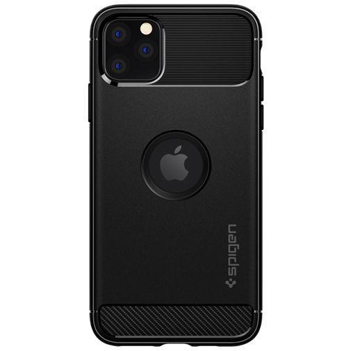 Produktimage des Spigen Rugged Armor Hülle Schwarz Apple iPhone 11 Pro Max