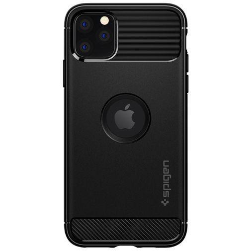 Produktimage des Spigen Rugged Armor Hülle Schwarz Apple iPhone 11 Pro