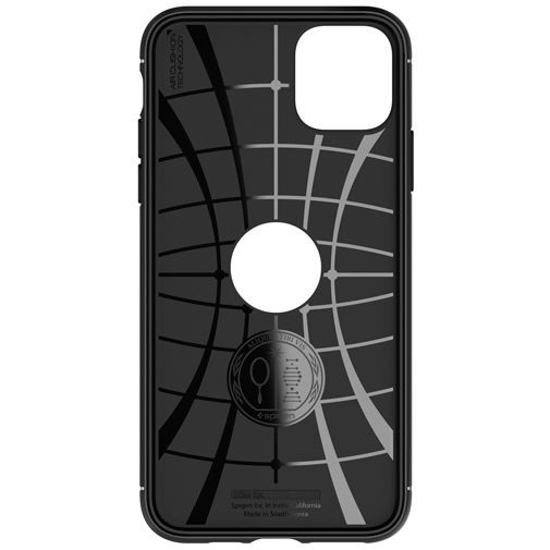 Productafbeelding van de Spigen Rugged Armor Case Black Apple iPhone 11 Pro