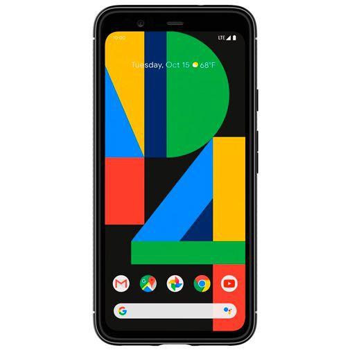 Productafbeelding van de Spigen Rugged Armor Case Black Google Pixel 4