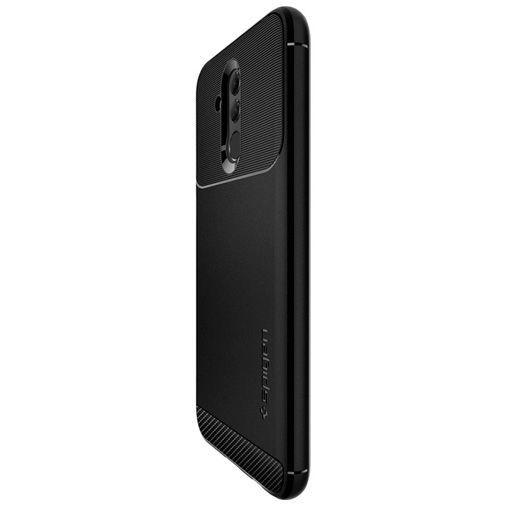Productafbeelding van de Spigen Rugged Armor Case Black Huawei Mate 20 Lite