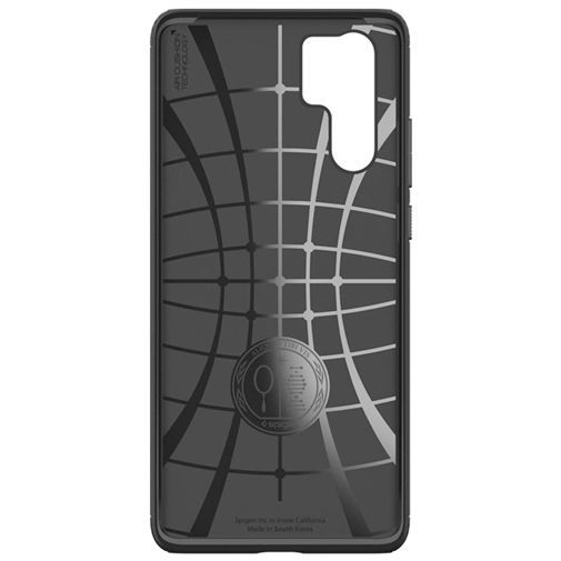 Productafbeelding van de Spigen Rugged Armor Case Black Huawei P30 Pro