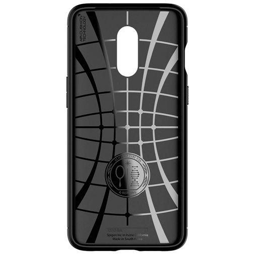 Productafbeelding van de Spigen Rugged Armor Case Black OnePlus 7
