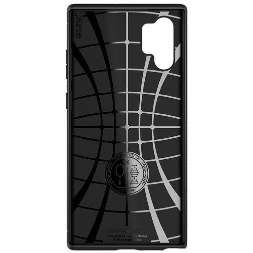 Productafbeelding van de Spigen Rugged Armor Case Black Samsung Galaxy Note 10+