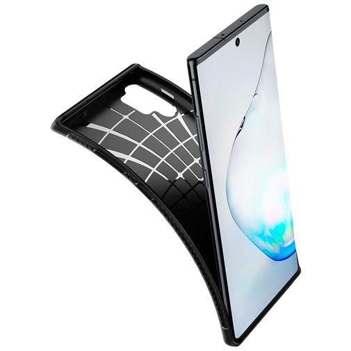 Produktimage des Spigen Rugged Armor Hülle Schwarz Samsung Galaxy Note 10+