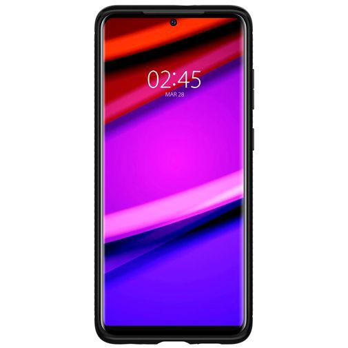 Productafbeelding van de Spigen Rugged Armor Case Black Samsung Galaxy S20+