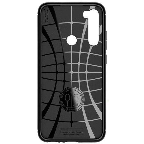 Produktimage des Spigen Rugged Armor Hülle Schwarz Xiaomi Redmi Note 8