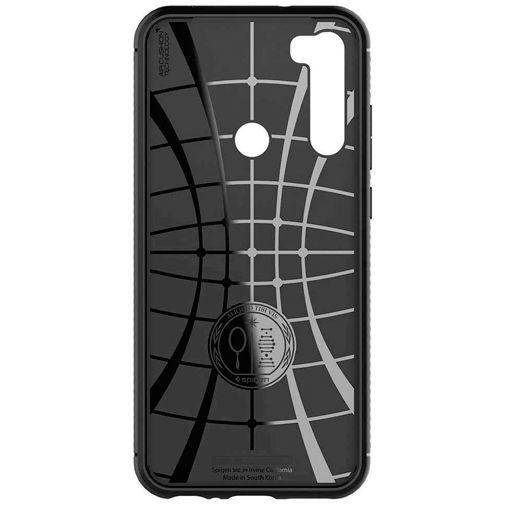 Productafbeelding van de Spigen Rugged Armor Case Black Xiaomi Redmi Note 8T