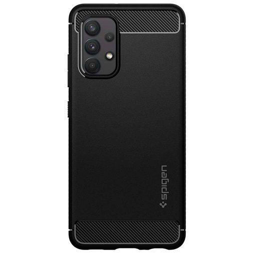 Productafbeelding van de Spigen Rugged Armor TPU Back Cover Zwart Samsung Galaxy A72