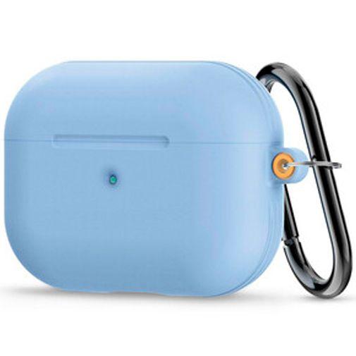 Productafbeelding van de Spigen Siliconen Case Blauw Apple AirPods Pro