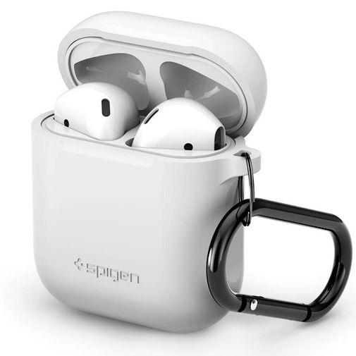 Productafbeelding van de Spigen Silicone Case White Apple AirPods