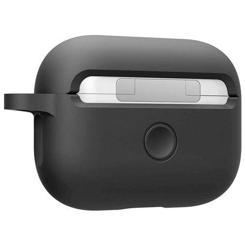 Productafbeelding van de Spigen Silicone Case Black Apple AirPods Pro