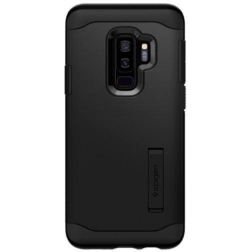 Productafbeelding van de Spigen Slim Armor Case Black Samsung Galaxy S9+