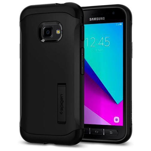 Productafbeelding van de Spigen Slim Armor Case Black Samsung Galaxy Xcover 4/4s