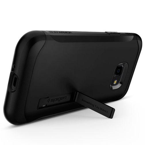 Produktimage des Spigen Slim Armor Hülle Schwarz Samsung Galaxy Xcover 4/4s