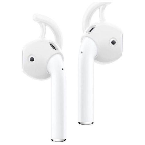 Produktimage des Spigen Teka RA200 Earhooks Apple Airpods Weiß