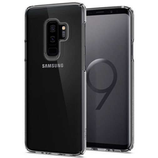 Productafbeelding van de Spigen Thin Fit Case Clear Samsung Galaxy S9+