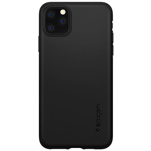 Productafbeelding van de Spigen Thin Fit Case Black Apple iPhone 11 Pro Max