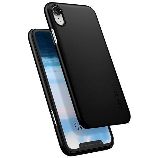 Productafbeelding van de Spigen Thin Fit Case Black Apple iPhone XR