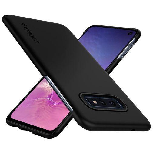 Produktimage des Spigen Thin Fit Hülle Schwarz Samsung Galaxy S10e