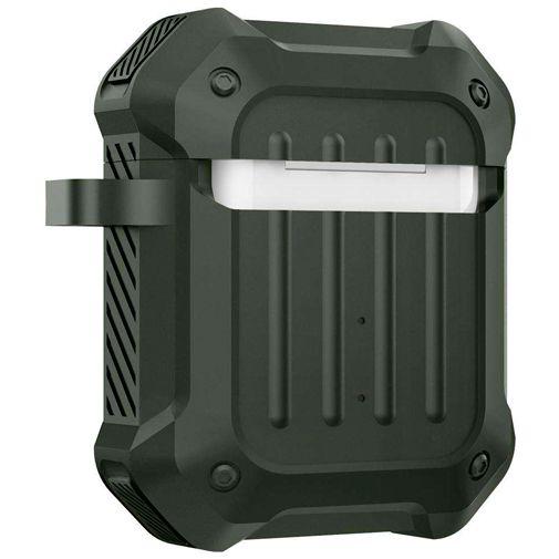 Productafbeelding van de Spigen Tough Armor Case Green Apple Airpods