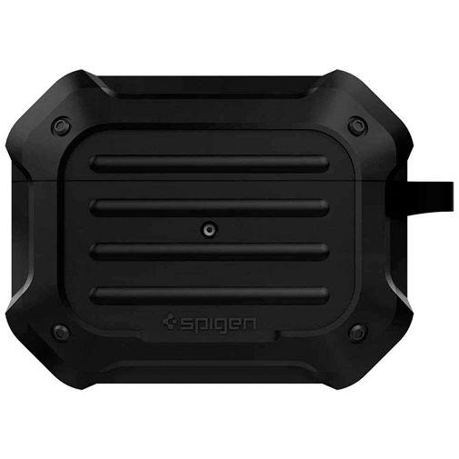 Productafbeelding van de Spigen Tough Armor Case Black Apple AirPods Pro