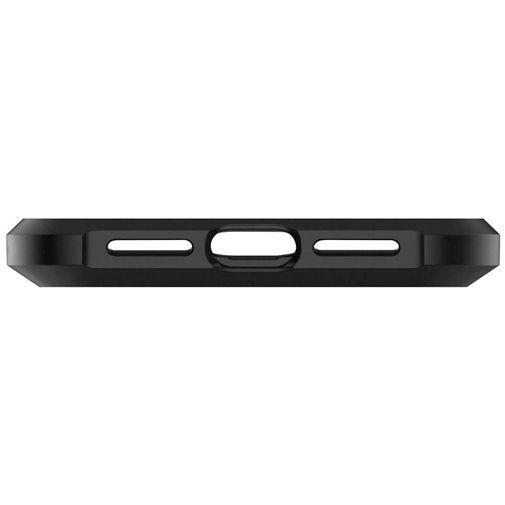 Produktimage des Spigen Tough Armor Hülle Schwarz Apple iPhone XR