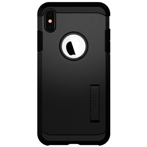 Productafbeelding van de Spigen Tough Armor Case Black Apple iPhone XS Max